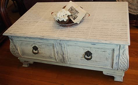 Coffee Table Decoupage - decoupage asouthernstory