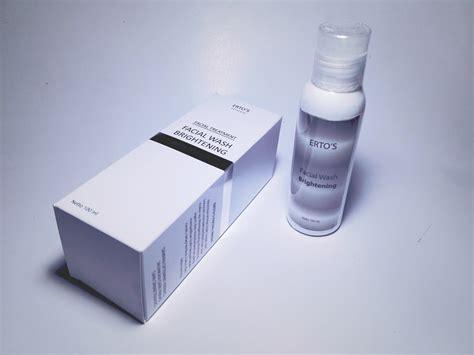Pembersih Ertos Harga Spesifikasi Ertos Treatment Wash
