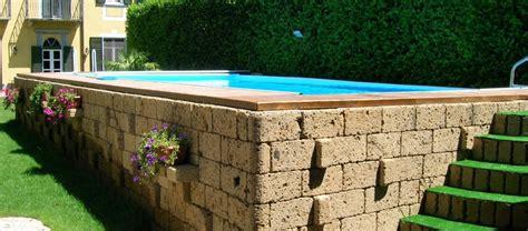 piscina smontabile da giardino vecchio piscine srl costruzione realizzazione piscine