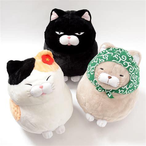 Hige Manjyu Diecut Cat Blankets hige manjyu fuku cat plush collection big tokyo otaku