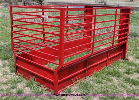 Livestock Rack For by Bed Stock Racks No Reserve Auction On Friday May