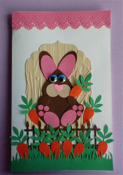 Paper Punch Craft Designs - hippity hoppity paper punch bunny think crafts by