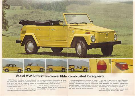 volkswagen safari thesamba com vw archives 1974 vw thing sales brochure