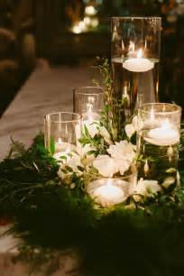 candle wreaths floral wreath wedding centerpieces with floating candles