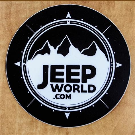 jeep patriot stickers jeepworld 4x4 quot vinyl sticker black jeep world