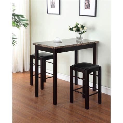 Home decorators collection tavern piece espresso bar table s on modern dining room sets furnitu
