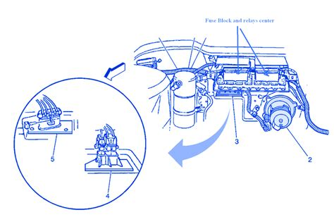 pontiac bonneville  blower electrical circuit wiring diagram carfusebox