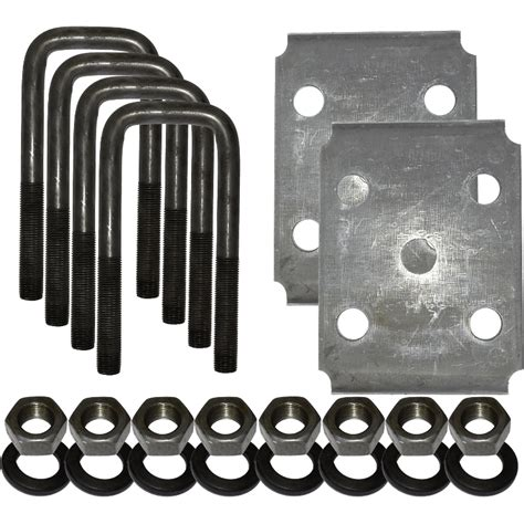 pattern completion exles u bolt kit for 2 quot square tube axle au2s dl parts for