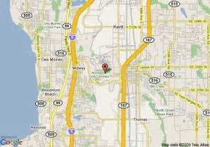 Kent Washington Map by Map Of Best Western Plaza By The Green Kent