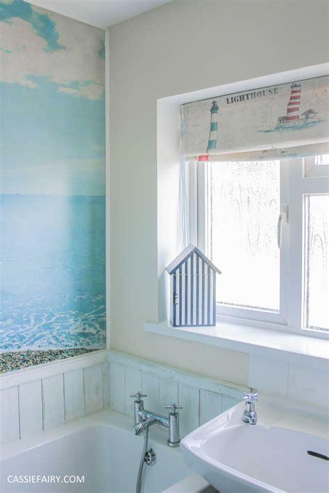 low budget bathroom makeovers diy beach hut bathroom makeover project low budget renovation 14