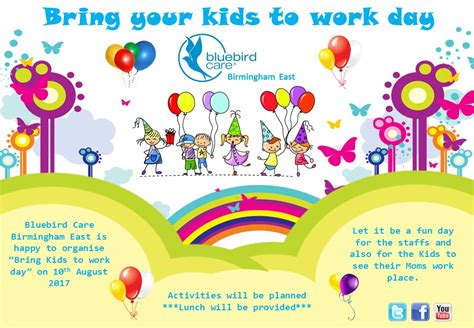 Bring A To Your Day by Bring Your Child To Work Byctw Day