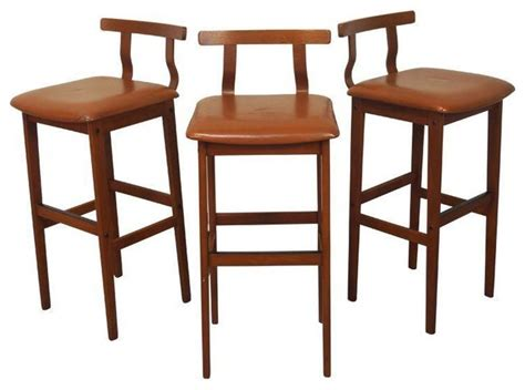 danish modern bar stool danish modern teak bar stools modern bar stools and counter stools by chairish