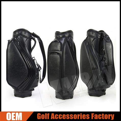 Handmade Leather Golf Bags - custom leather golf caddie bag golf cart bag buy golf