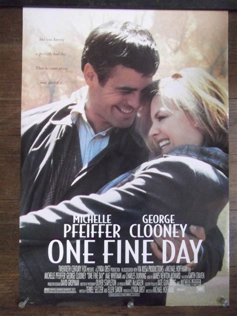 film review one fine day george clooney and michelle pfeiffer one fine day movie