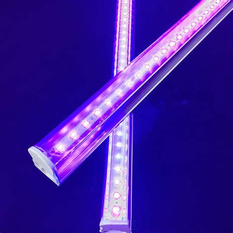 Uv Light Fixtures Digoo Dg St4 Led Uv Light Fixtures Amlight T8 Integrated Pro Blacklight Hotel
