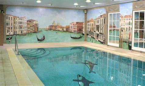 Mural On A Wall mary maccarthy venetian swimming pool mural