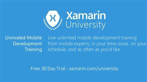 xamarin tutorial course introduccion a xamarin