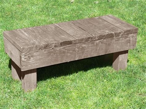 4x4 bench 4x4 bench plans pdf woodworking