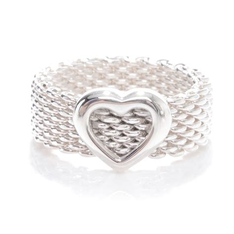 co sterling silver mesh ring 4 46305