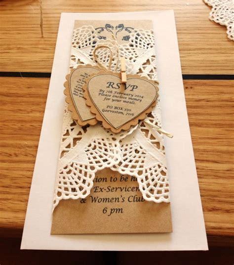 rustic shabby chic wedding invitation wedding invitations pinter