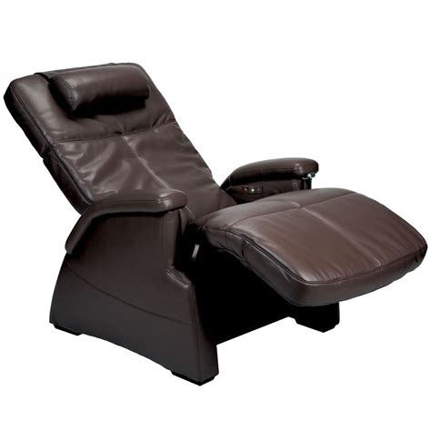 massaging recliner chairs the heated zero gravity massage chair hammacher schlemmer