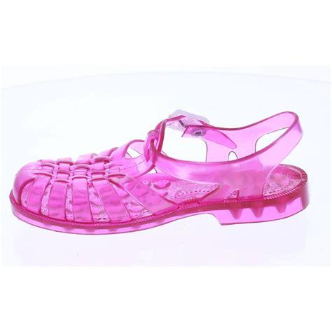 plastic shoes pink plastic sandals m 233 duse from princesse ilou
