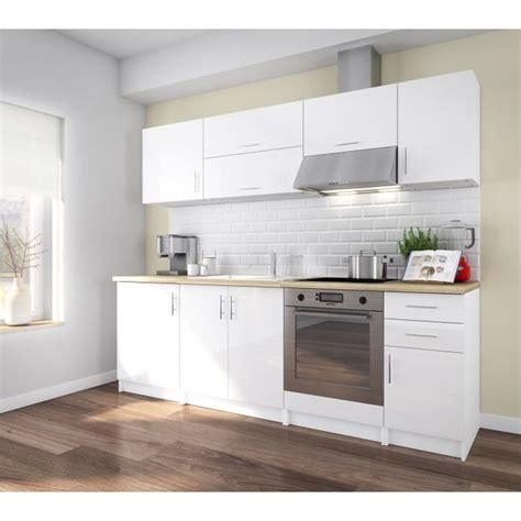 corry 240 cuisine compl 232 te 2m40 laqu 233 blanc brillant