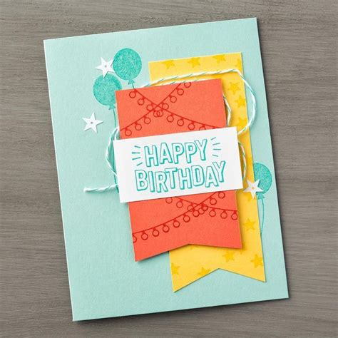 birthday cards you can make we re loving this brightly colored birthday card that will