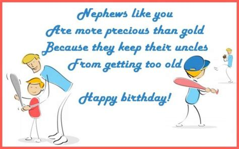 Birthday Wish For Nephew Quotes Happy Birthday Wishes For A Nephew Messages Quotes And