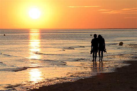 romantic beach romantic walk on the beach of le crotoy