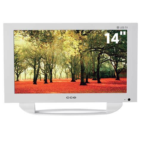 Tv Led Votre 14 tv 14 quot led cce lw144 conversor digital e entrada usb branco tv led no casasbahia br