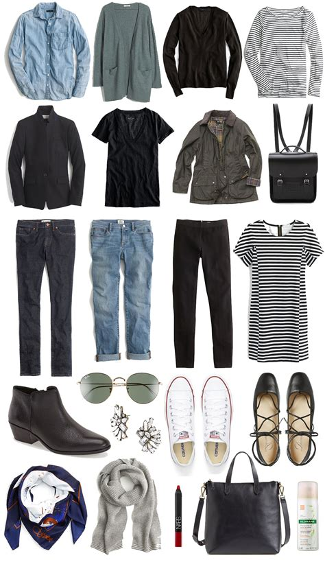Capsule Travel Wardrobe by A Travel Capsule Wardrobe Your Ultimate Packing List