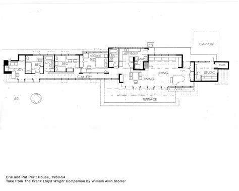 Frank Lloyd Wright Style Home Plans Frank Lloyd Wright Home Plans Smalltowndjs
