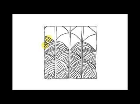 zentangle pattern shattuck zentangle patterns tangle patterns shattuck youtube