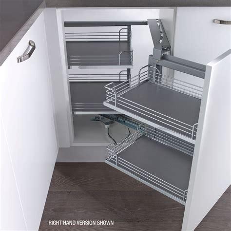 Kitchen Cabinet Pull Out Storage Magic Corner Kesseb 246 Hmer Arena Magic Corner Chrome Lh