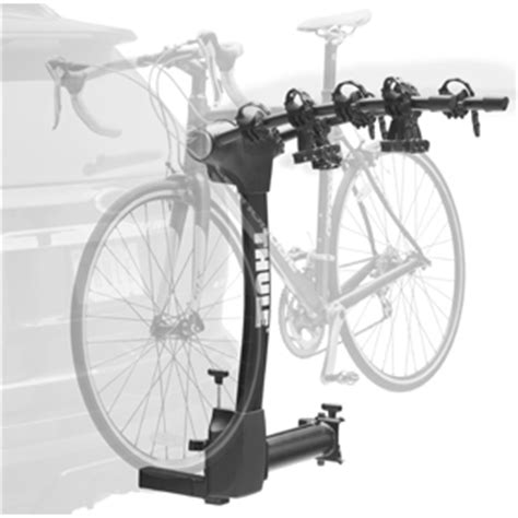 thule swing away bike carrier thule 9031xt vertex 4 bike swing away hitch bicycle rack