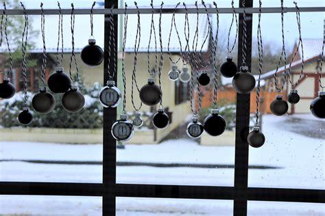 Fenster Deko Weihnachten Diy by Diy Schnelle Weihnachtliche Fensterdeko Reloves De