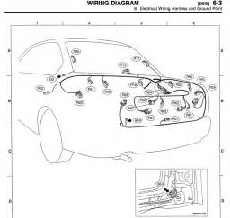 2000 subaru outback tail light wiring harness outback