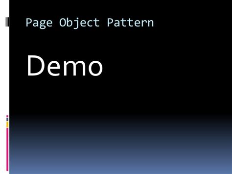 page object pattern coded ui selenium ui paradigm ddd north 2