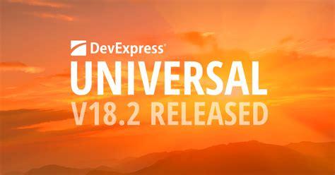 devexpress universal  released