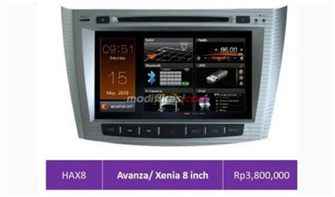 Din Oem Avanza Xenia Panel 8 Frame unit m tech avanza xenia oem 8 quot n play