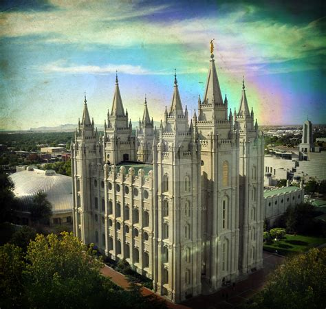 salt lake temple rainbow windo by houstonryan on deviantart