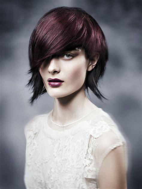 2014 aveda hair cuts bob hairstyle asymmetrical with bangs styloss com