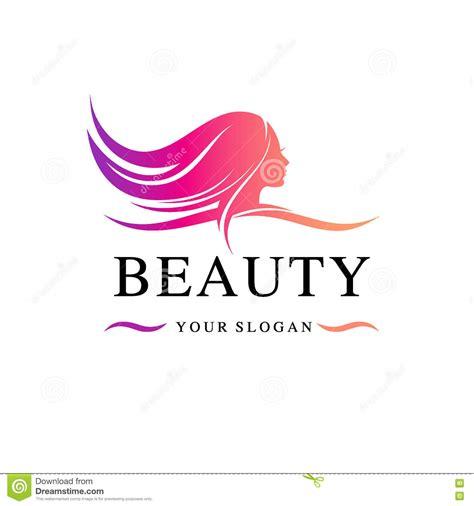 beauty layout vector beauty salon logo template vector illustration stock