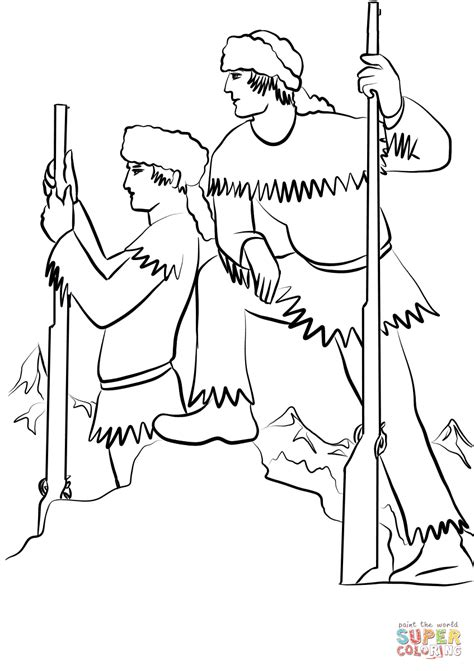 perfect click the lewis and clark coloring pages to view
