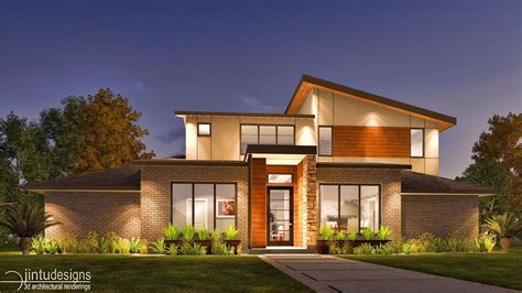 Home Design 3d Exterior Rendering 3d Front Elevation