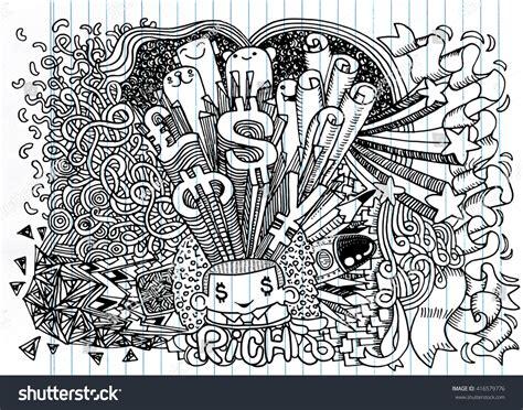 doodle money doodle money doodle drawing style notebook doodle