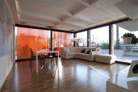 come attrezzare un terrazzo copertura terrazza a veranda fossombrone