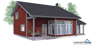 Small Home Blueprints Small House Plan Ch92 With Affordable Building Price And