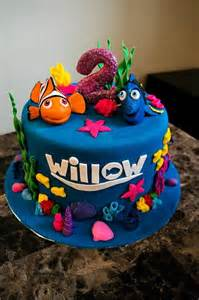 Nemo Cake Template by 40 Finding Dory Birthday Ideas Pretty My